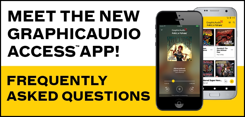 GraphicAudio Access App FAQ
