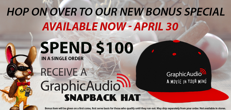 Spend $100 or more in one order and get a GraphicAudio Snapback Hat
