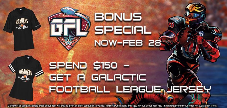 Galactic Football League Special