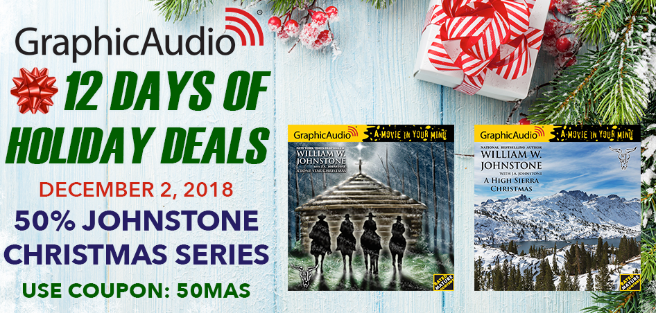 Day Two - Take 50% Off William W. Johnstone Christmas Series Today Only with coupon code 50MAS