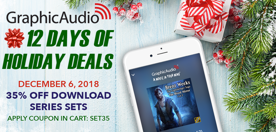 Day Six - 35% Off All Download Series Sets with coupon SET35 applied in the cart.