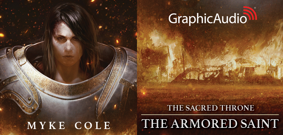 New GraphicAudio Release - The Sacred Throne 1: The Armored Saint by Myke Cole