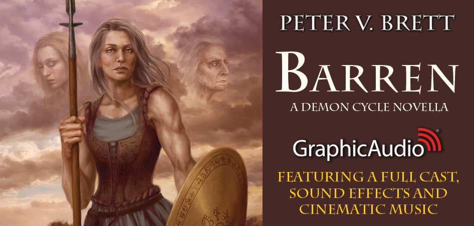 Demon Cycle: BARREN by Peter V. Brett (Dark Fantasy)