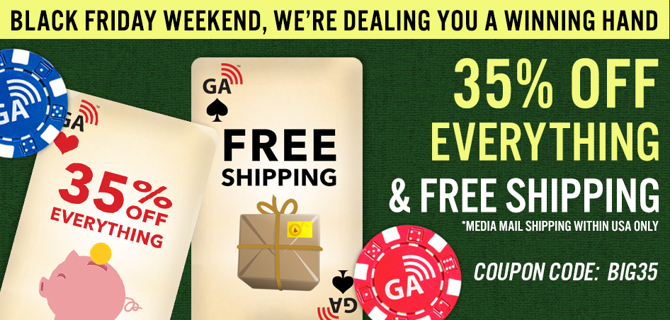 Save 35% OFF Everything and Free Shipping when you use coupon BIG35 in the cart now through Nov 26