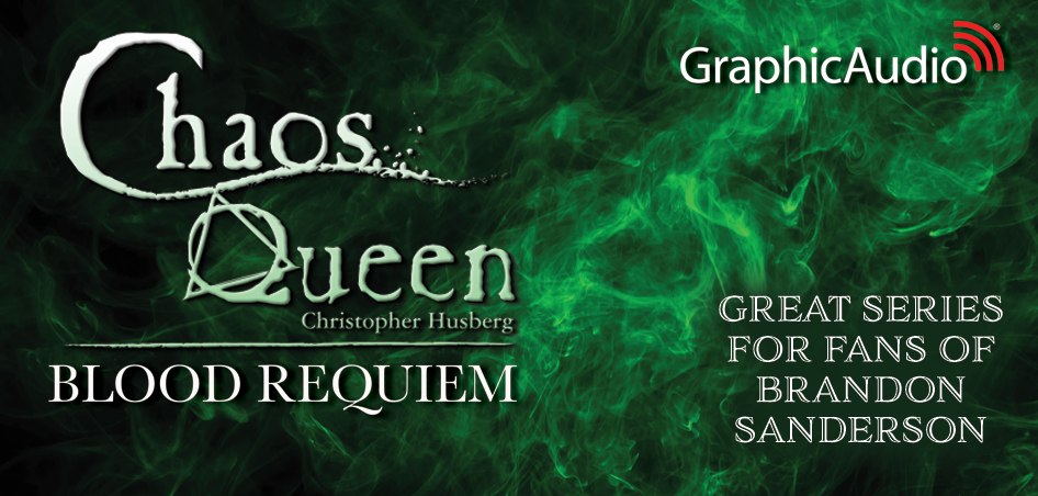 The Chaos Queen 3: Blood Requiem by Christopher Husberg (Dark Fantasy)