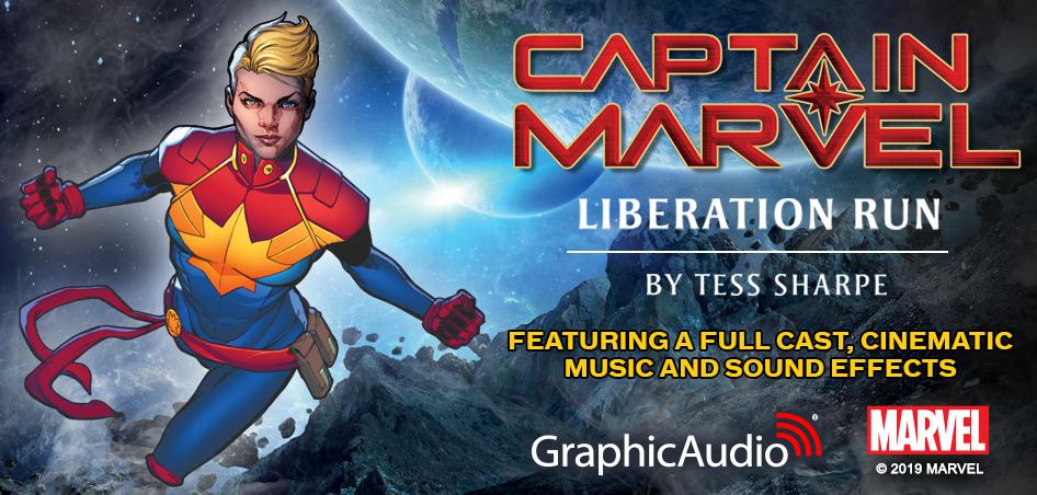 Captain Marvel: Liberation Run by Tess Sharpe (New Comics Release)