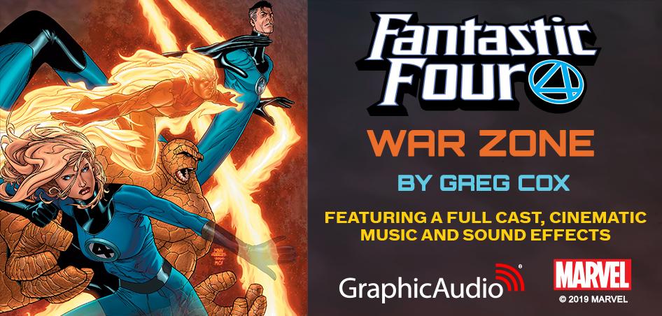 MARVEL - Fantastic Four: War Zone by Greg Cox