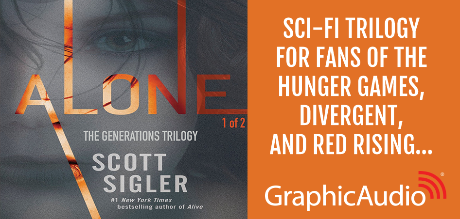 In the vein of Hunger Games, Divergent, & Red Rising... The Generations Trilogy 3: Alone (1 of 2) by Scott Sigler (Dystopia / Sci-Fi / Young Adult)