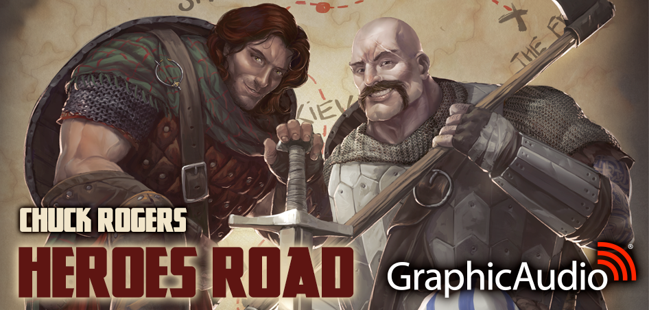Heroes Road 1: Volume One (1 of 3) by Chuck Rogers (Hilarious Epic Fantasy with Swords and Sorcery)