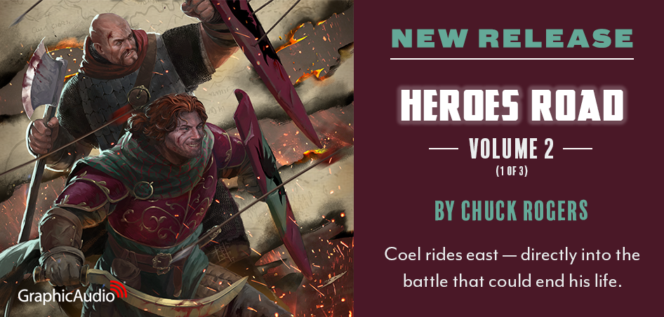 Heroes Road: Volume Two by Chuck Rogers (Epic Fantasy Adventure with Swords and Sorcery)