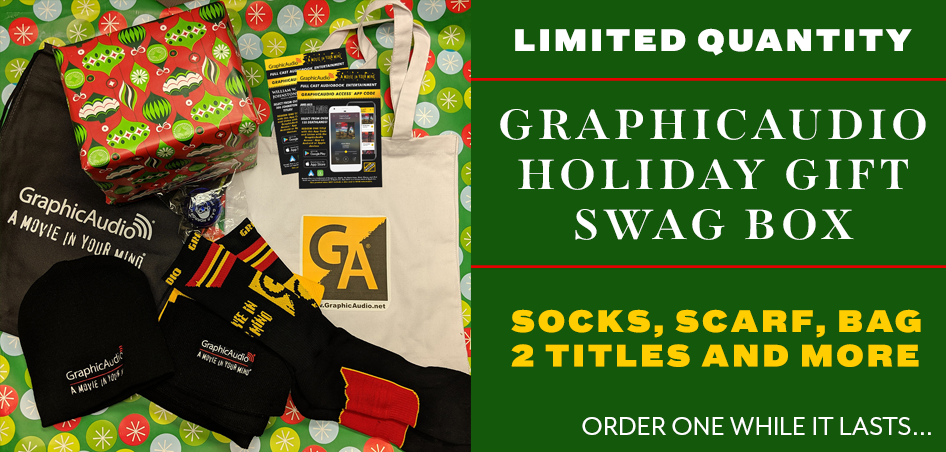 2018 GraphicAudio Holiday Gift Swag Box - Limited Quantity Available