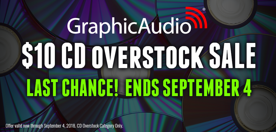 $10 Overstock CD Sale completely ends on September 4th. Get them now...