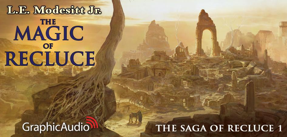 The Saga of Recluce 1: The Magic of Recluce (1 of 2) by L. E. Modesitt Jr. (Fantasy)