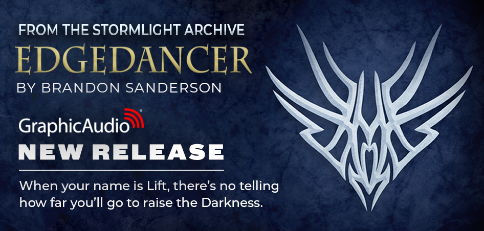 The Stormlight Archive: Edgedancer by Brandon Sanderson (Epic Fantasy with Magic)