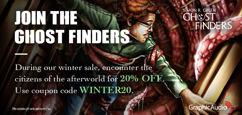 No haunting is too eerie to keep these operatives from ridding society of its supernatural residents. Simon R Green introduces the living to the lifeless in Ghost Finders. 20% Off Winter Sale! Use Coupon In Cart: WINTER20 (offer excludes gift card & mystery box) Valid now through January 31.